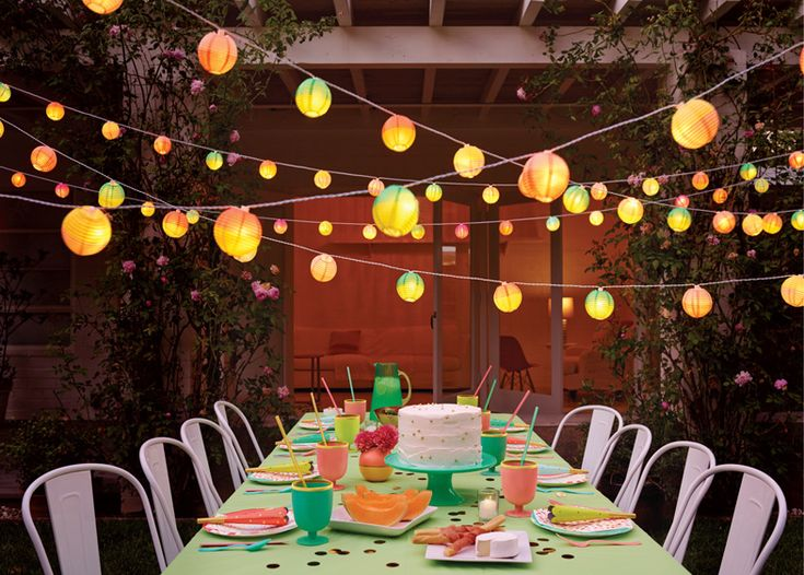 #Outdoor #lighting for spring evenings.