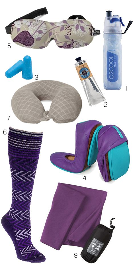 Carryon travel essentials to survive a long haul flight in economy