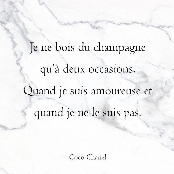 Du champagne - Chanel