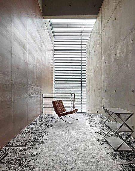 Subtle Yet Elegant Carpet Tile Design By Interface Like
