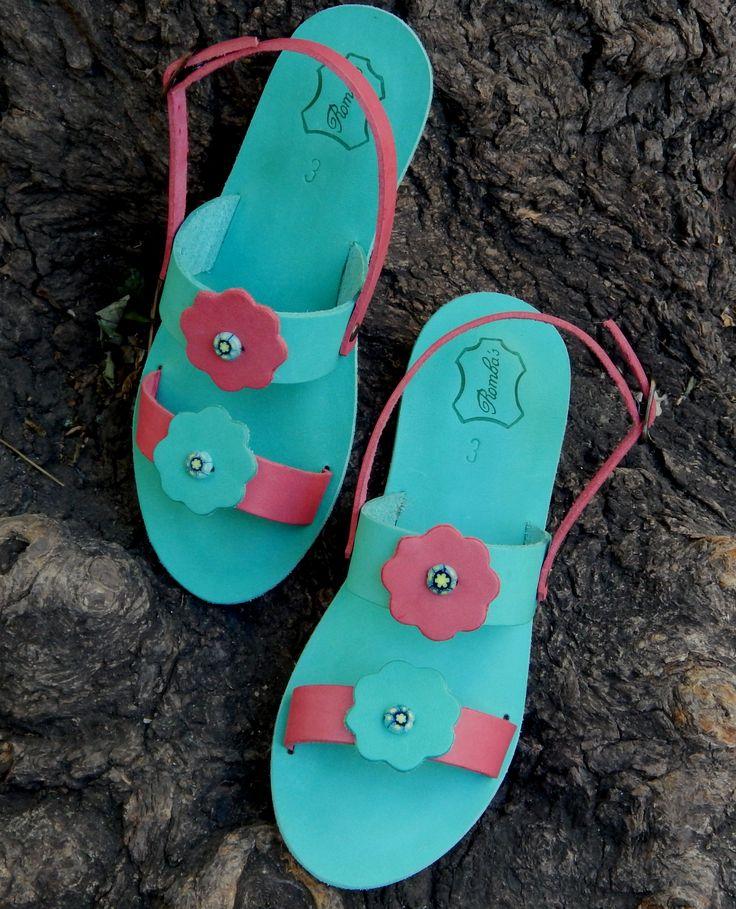 ... happy sandals ..... happy kids .... Romba's handmade ...
