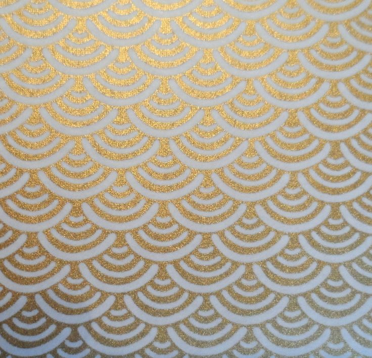 grande feuille de papier washi japonais yuzen dor vagues seigaha 18 papeterie carterie par. Black Bedroom Furniture Sets. Home Design Ideas