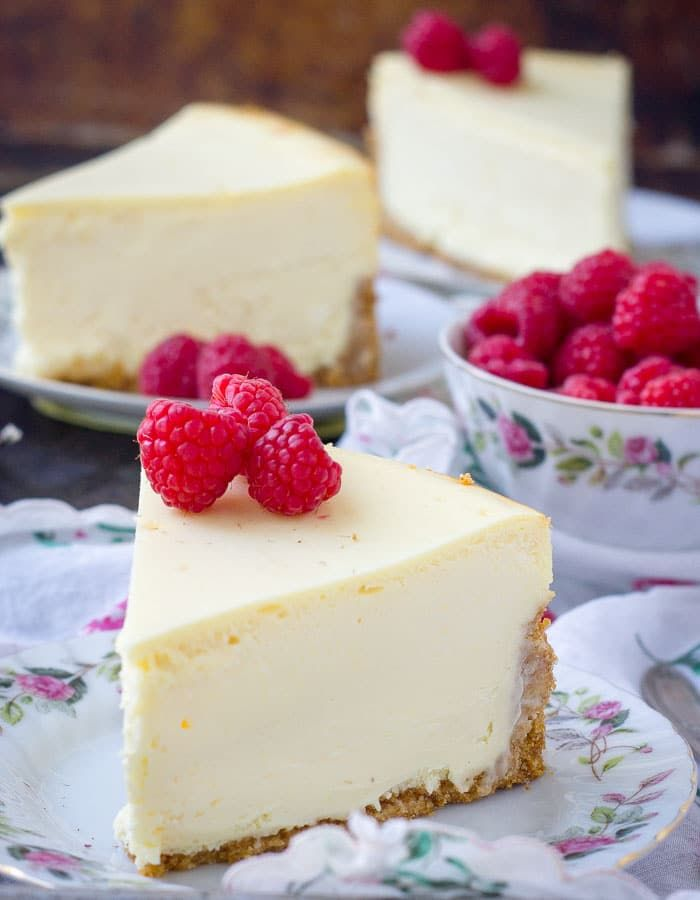 New York Cheesecake Recipe With Images Creamy Cheesecake Recipe New York Cheesecake Creamy Cheesecake