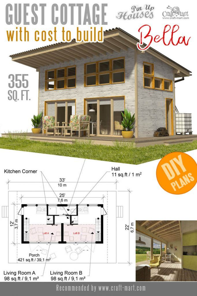 Awesome Small And Tiny Home Plans For Low Diy Budget Craft Mart In 2020 Small House Plans Tiny House Plans House Plans