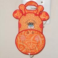 Giraffe Phone Charger | All Sew Crafty