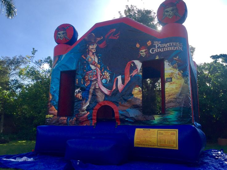 Pirate party ideas Jumping castle hire Melbourne