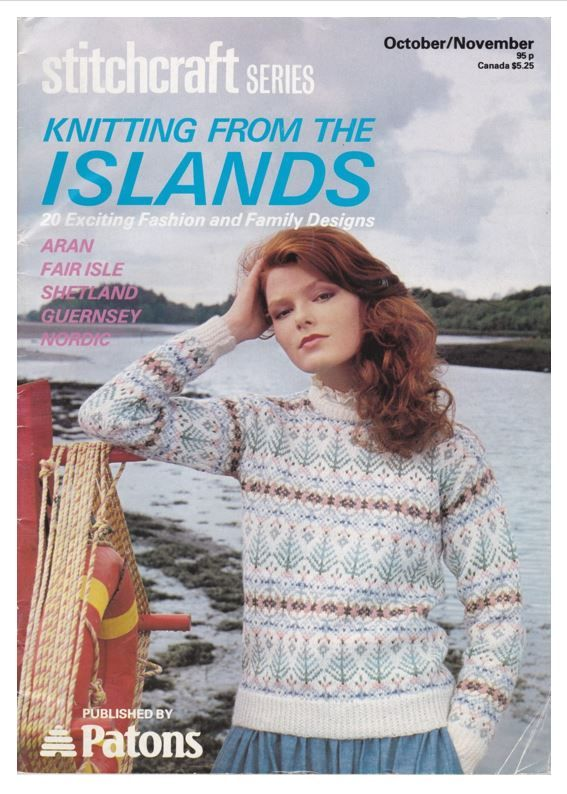 Image result for patons fair isle knitting patterns 1980s