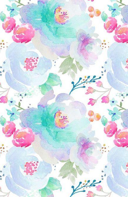 Trendy Flowers Design Watercolor Beautiful Ideas