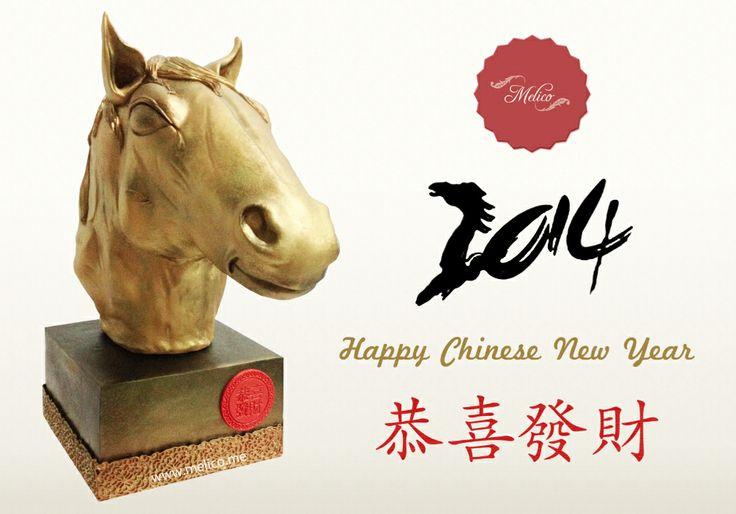3D Cake - Horse Cake. Chinese New Year 2014 #3dcake #cake #ediblecake #sculptedcake #noveltycake #birthdaycake #sugarart -- Like and Follow us #melicobali (Instagram) || www.melico.me