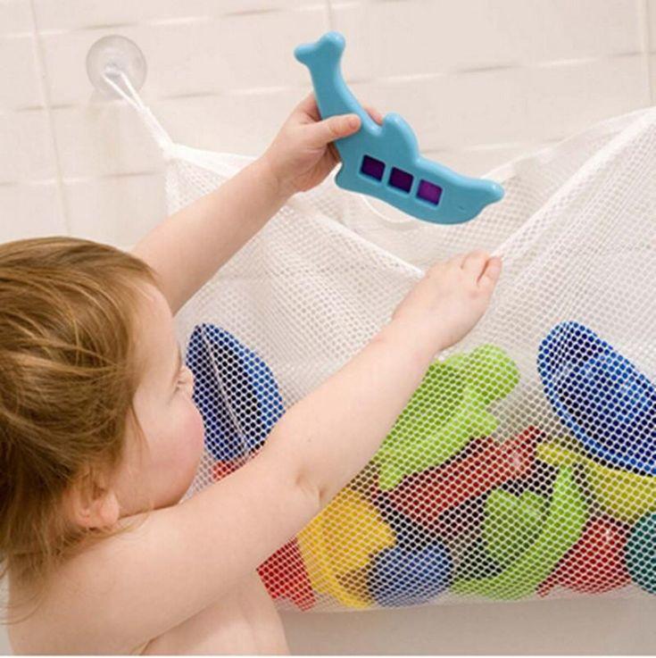 NEW-CLIPPASAFE-BABY-CHILD-BATH-TOY-BAG-NET-STORAGE-BATHROOM-TOOLS-COLLECTION-B