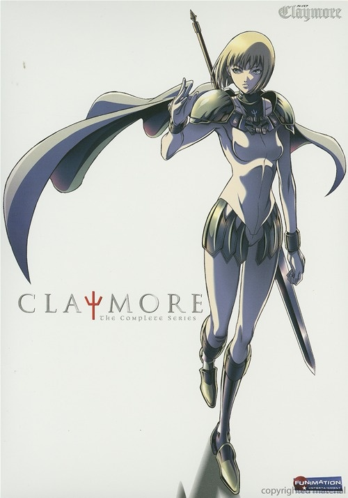 Claymore. The first anime I ever watched and it is FANTASTIC.