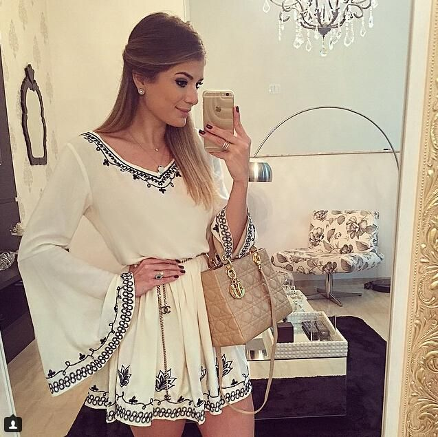 Cheap embroidery blanks dresses, Buy Quality dress goat directly from China embroidery baby Suppliers:                            2015 the most popular women dress   100% same with photo,