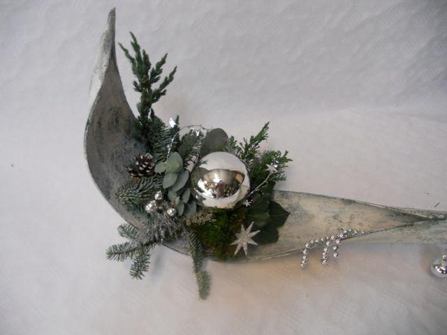 galera blad versieren voor kerst