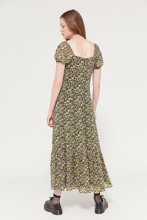 45+ Puff sleeve maxi dress information