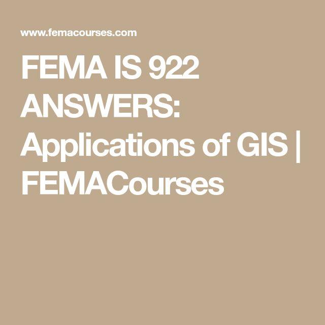 Gis 200 Test : fema is 922 answers applications of gis final exams ~ Aude.kayakingforconservation.com Haus und Dekorationen