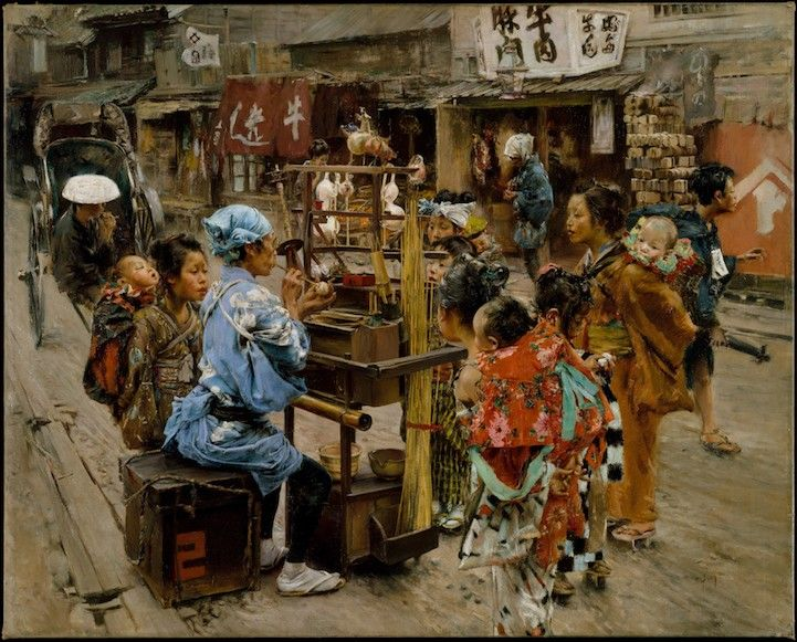 Tokyo by Robert Frederick Blum in the late 19th century. (others)  - [ Learn Japanese Words with Pinterest by webjapanese.com ]
