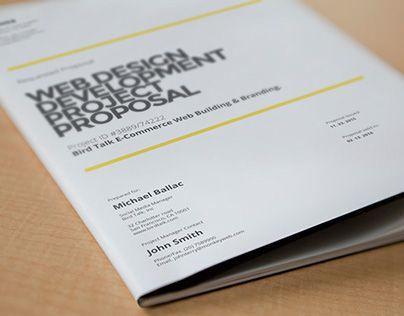 64 best Brochure and Flyers Design images on Pinterest Brochures - proposal cover page design