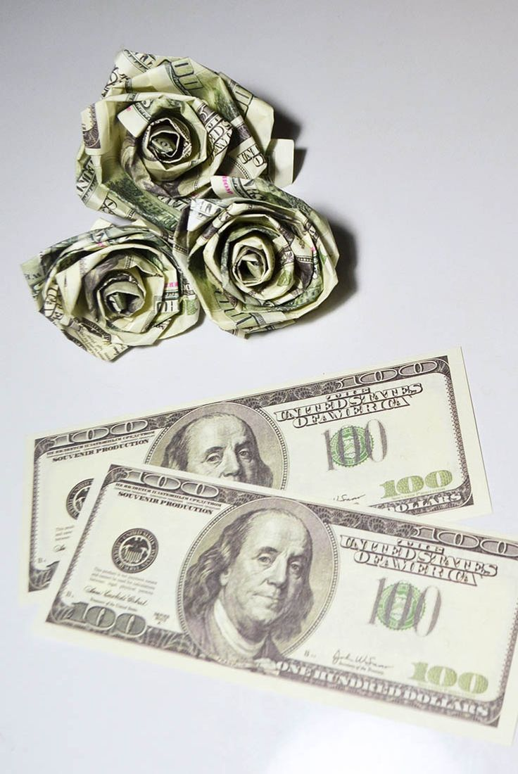 52 best money flowers origami images on pinterest diy rose dollars money origami flower gift bills paper tutorial simple and fast money rose from mightylinksfo