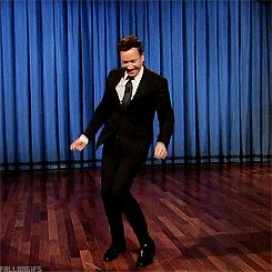 Jimmy Fallon Footloose   Because everyone needs a dancing Jimmy Fallon gif set on their blog.