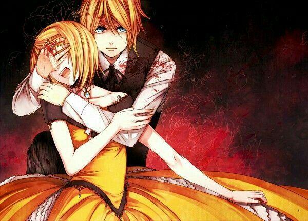 Kagamine Rin & Len ♡♡ Servant of Evil