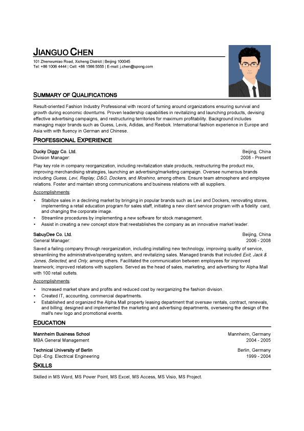 automatic resume maker