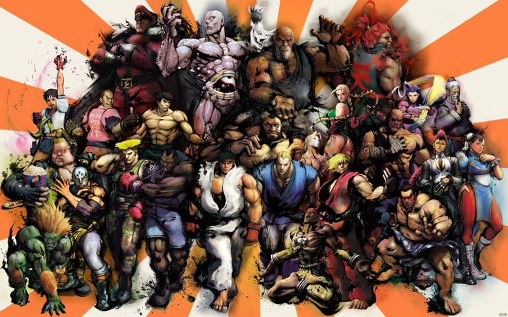 Street Fighter Anime | Super Street Fighter IV Picture HD Game Wallpapers