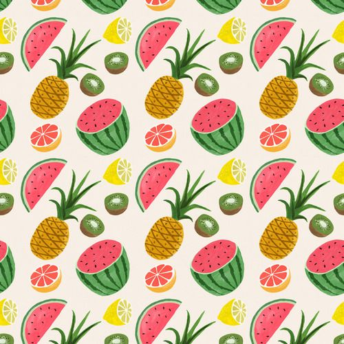 TropicalRuby Taylors, Fruity Wallpapers, Fruit Salad, Tropical Fruits, Fruit Recipe, Fruit Pattern, Ipad Wallpapers, Fruit Ipad, Fresh Fruit