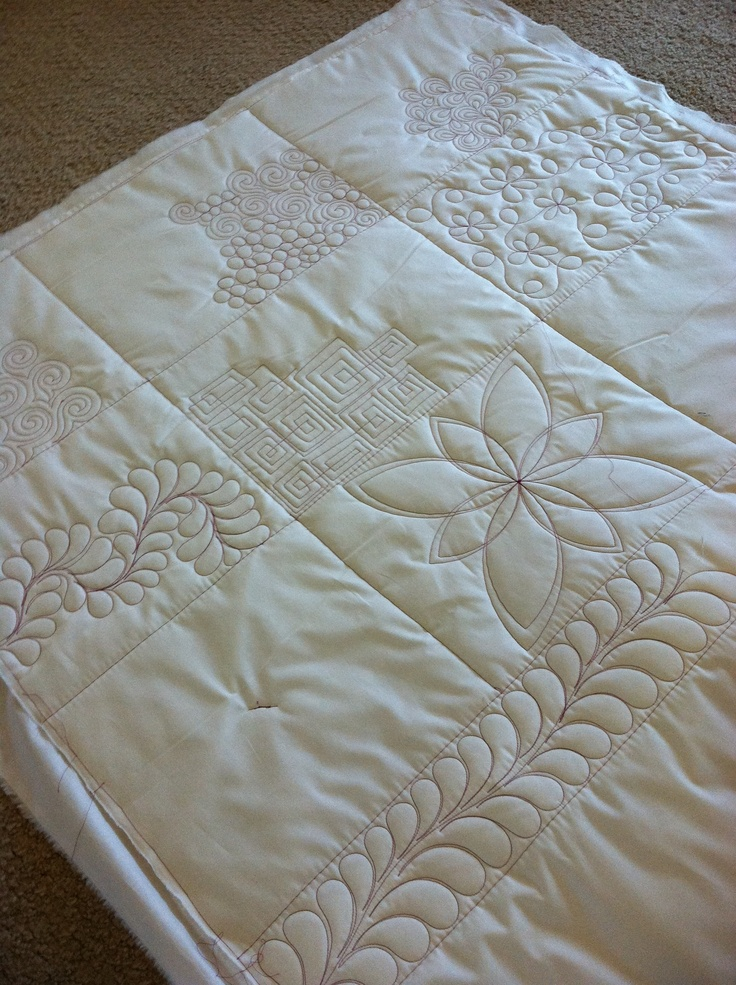 Watch! Natalia Bonner of Piece N Quilt shows  off some of her favorite longarm quilting designs.  Get plenty of ideas for your next quilt!