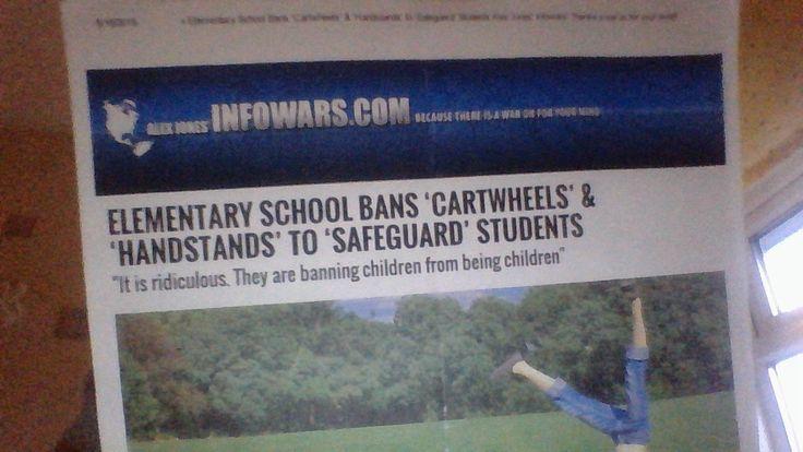 Breaking : Plymouth School Bans Handstands & Cartwheels - TNTV