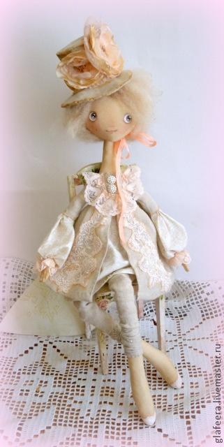 Коллекционные куклы ручной работы. Ярмарка Мастеров - ручная работа Марципановая Марта  коллекционная кукла. Handmade.