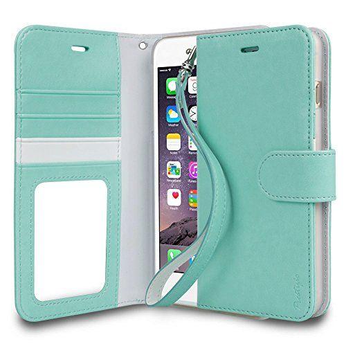 iPhone 6 Plus Case, TORU® [Wristlet] iPhone 6 Plus Case Wallet **NEW** [Prestizio] [Mint] - Premium PU Leather Wallet Case with ID Holder / Credit Card Slot / Inner Pocket / Wrist Strap / Stand Flip Cover - Verizon, AT&T, Sprint, T-Mobile, International, and Unlocked - Credit Card Case for iPhone 6 Plus (5.5 inch) (2014) - Retail Packaging - Mint (116PTPTZ-MT) TORU http://smile.amazon.com/dp/B00Q61QDXA/ref=cm_sw_r_pi_dp_s.M6ub1MXQXSS