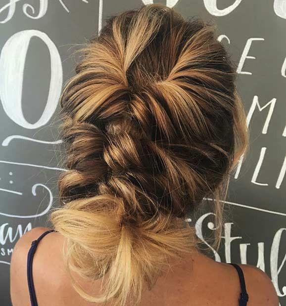 27 wunderschöne Abschlussball-Frisuren für langes Haar