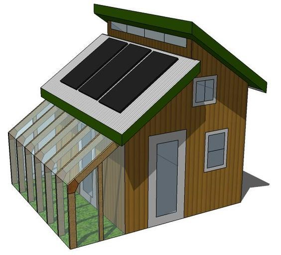 Tiny Eco House Plans - by Keith Yost Designs: