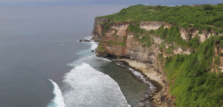 A serenade of waves hitting rocks on the shore with the wind blowing above the cliff is the accompanying music as you gaze upon the marvel of Jurang Tanjung