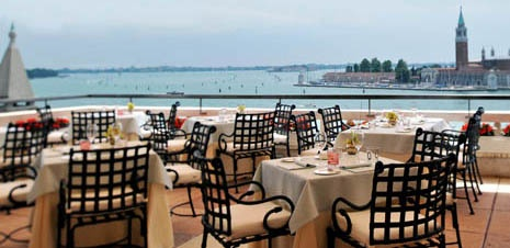 Hotel Danieli, Venice. Overlooks the lagoon. One of the best hotels in Venice.