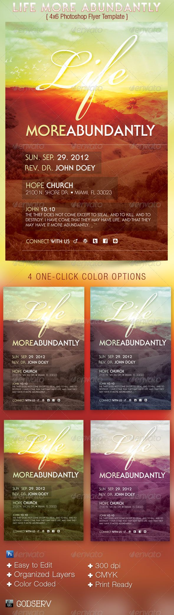 best images about church print samples program life more abundantly church flyer template