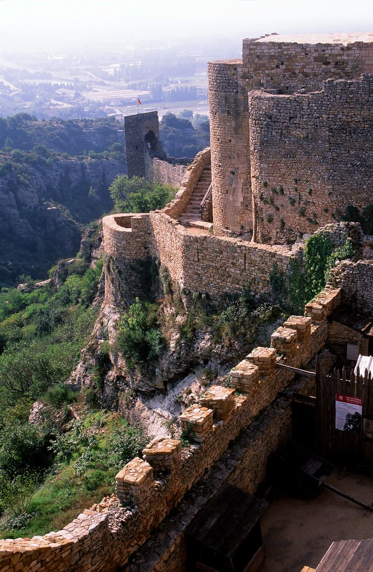 Vue depuis le Château de Mornas, Vaucluse, France