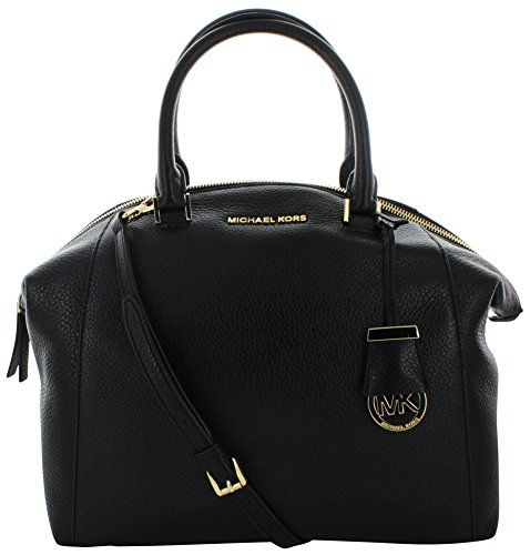Michael Kors Riley Women's Large Leather Satchel Handbag Bag ...