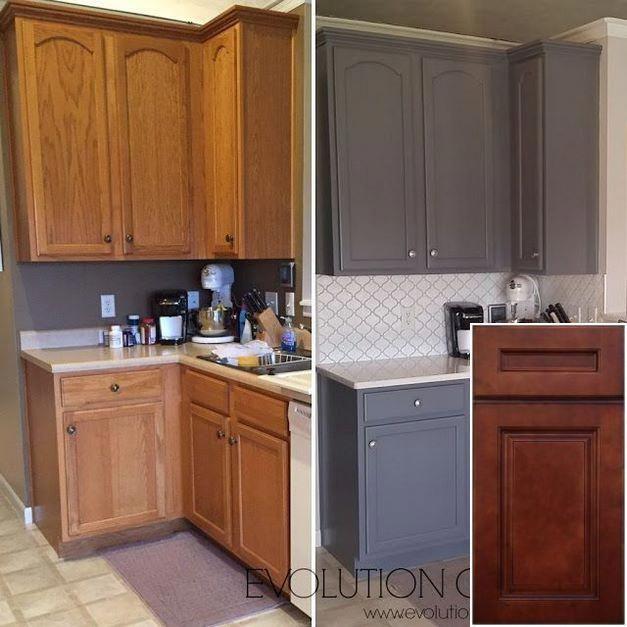 Understanding Refinishing Oak Cabinets With Chalk Paint Oakkitchencabinets Homeideas Old Kitchen Cabinets Kitchen Renovation Kitchen Cupboards Paint
