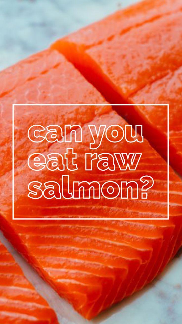 Can You Eat Raw Salmon? Eating raw, Raw salmon, Frozen