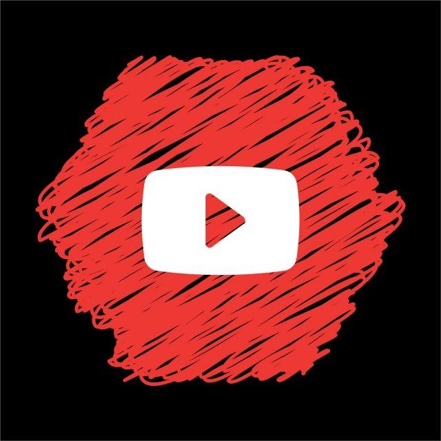 Youtube Scribble Icon Youtube Logo Youtube Logo Png Facebook Logo Png
