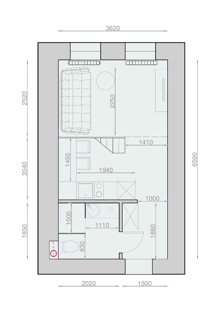 191 Best 25M2 Images On Pinterest | Home Ideas, Small Spaces And