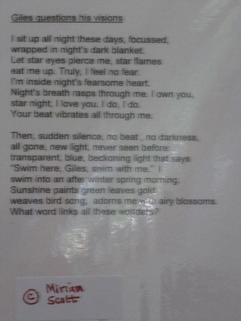 poem that goes with panel