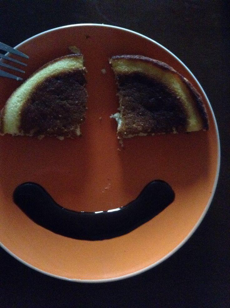 Hot cake face