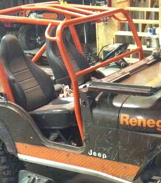 Frente Barra Antivuelco añadir el Kit de Jeep Cj7 1981-1986 Cj7 Frontal Roll Cage Add On