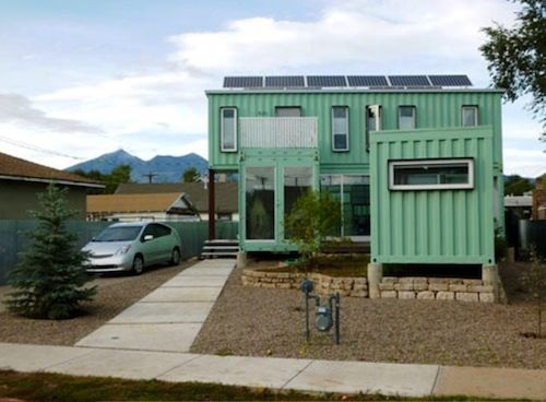 1000 images about c o n e x on pinterest green home renovation and tiny house - Container homes arizona ...