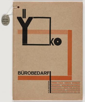 MoMA   The Collection   Joost Schmidt. YKO Bürobedarf. 1926