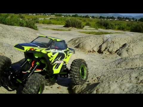 Exceed RC Rock Crawler Radio Car 1/16th Scale 2.4Ghz MaxStone 4WD Powerful Electric Remote Control Rock Crawler 100% RTR Ready to Run Waterproof Electronics