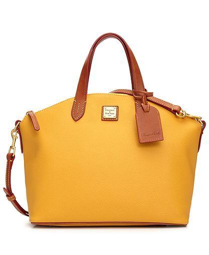 Dooney Bourke Handbag Eva Collection Satchel Handbags Accessories Macy S So Cute And My Favorite Color