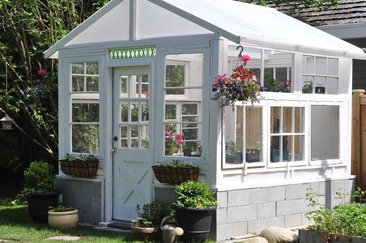 Build an INCREDIBLE Greenhouse From Vintage Windows